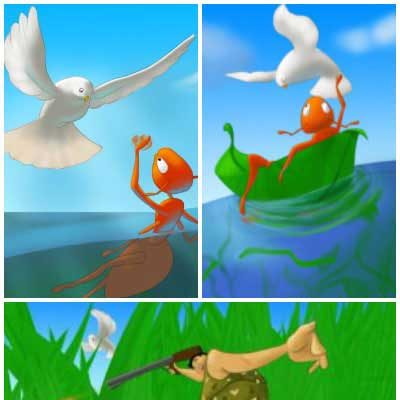 The Dove and The Ant Story
