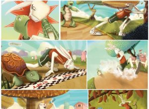 The Hare and The Tortoise Story