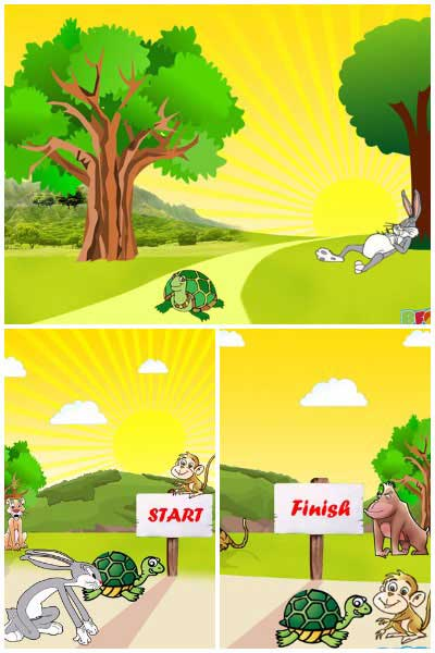 The Hare and The Tortoise Moral Story