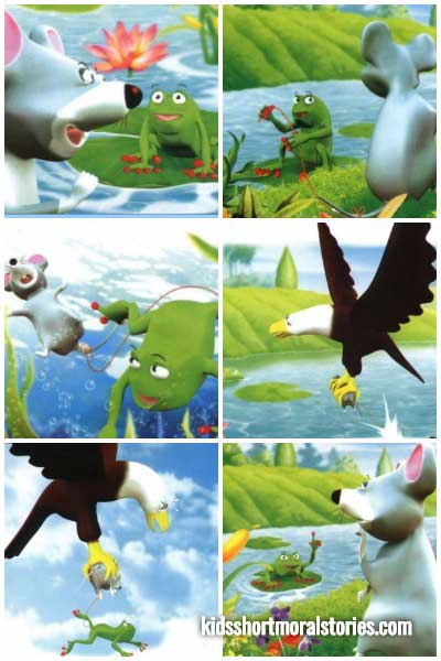 The Frog and The Rat Story • Kids Short Moral Stories