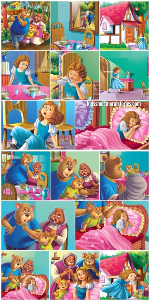 Goldilocks and the Three Bears Story With Pictures