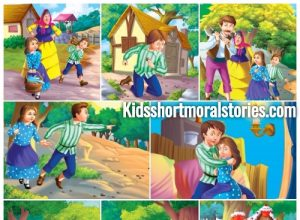 Hansel and Gretel Story with pictures