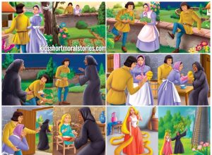 Rapunzel Story - Classic Fairy Tales For Kids