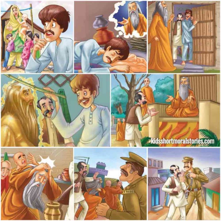 The Barber's Folly Panchatantra Story