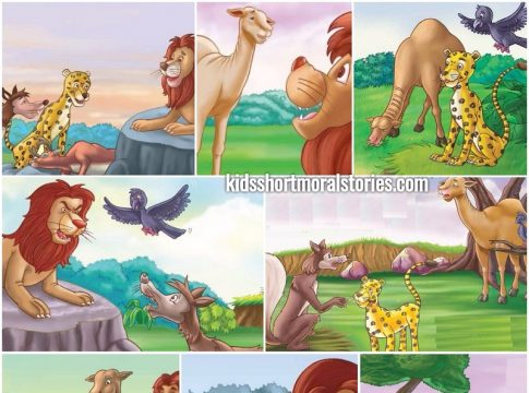 The Camel and The Jackal Story - A Panchatantra Story