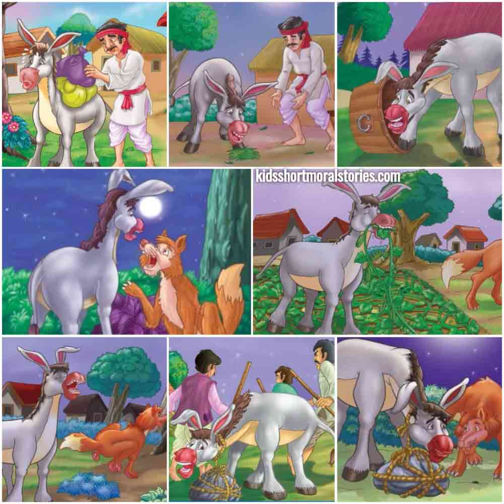 The Donkey's Song Panchatantra Story
