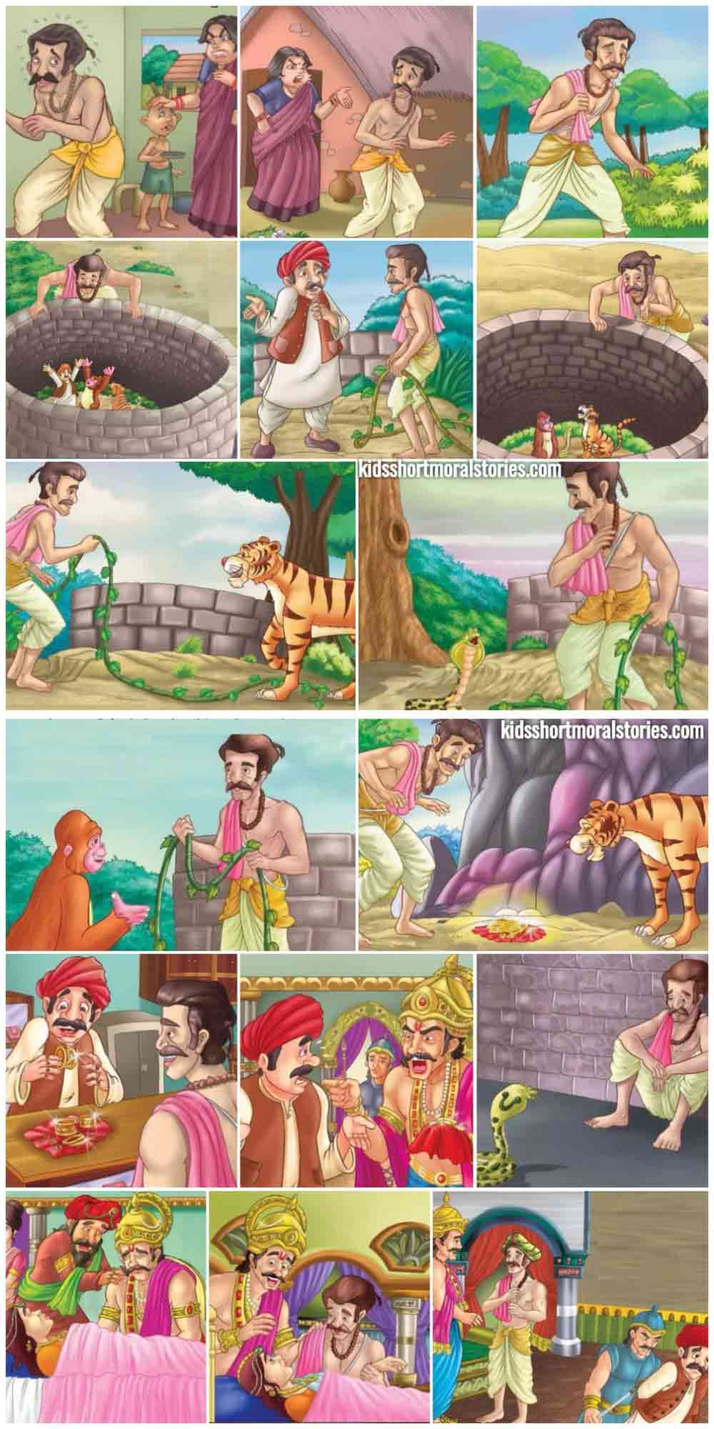 The Most Dangerous Animal Panchatantra Story