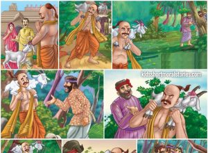The Three Crooks and The Brahmin panchatantra Story