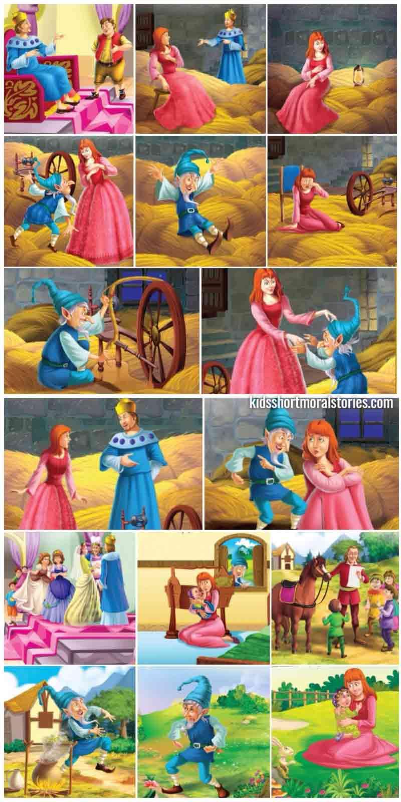 Rumpelstiltskin - Classic Fairy Tales and Stories For Children