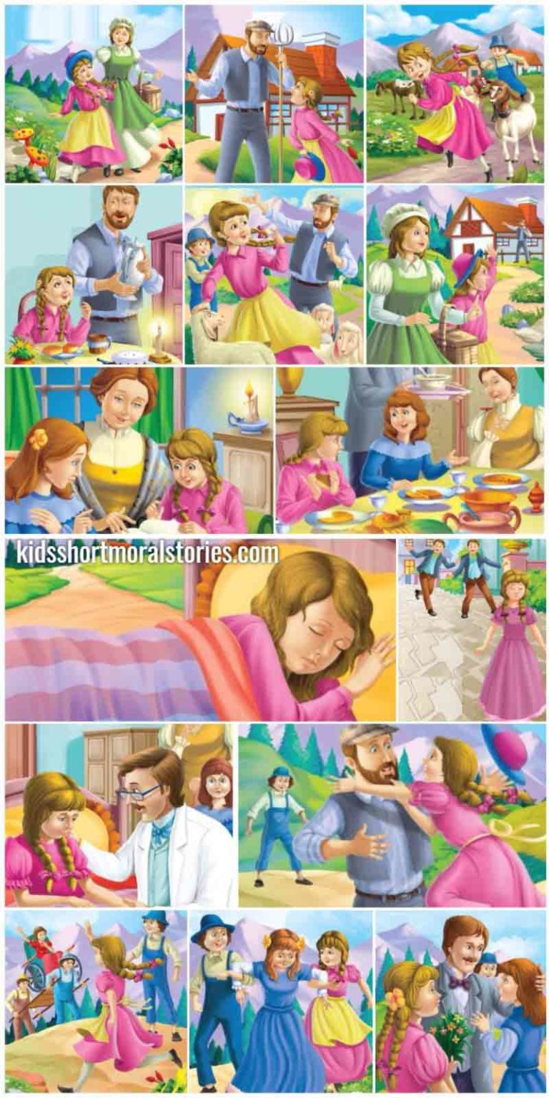 Story of Heidi in English - Classic Fairy Tales For Kids