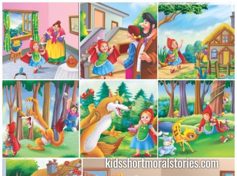 little red riding hood story - Classic Fairy Tales For Kids