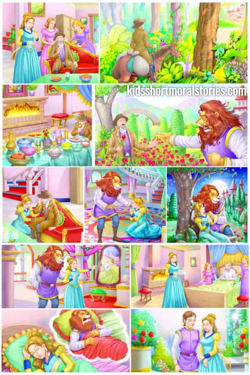 beauty and the beast summary Beauty and the beast is a traditional fairy talethe first published version of the fairy tale was a meandering rendition by madame gabrielle-suzanne barbot de villeneuve, published in la jeune américaine, et les contes marins, in 1740.