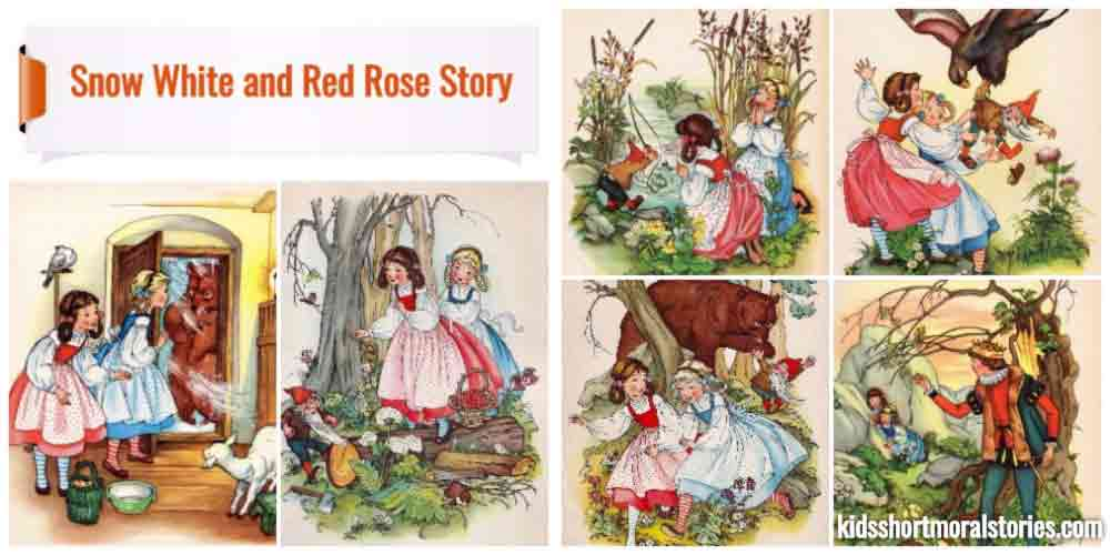 Snow White and Rose Red Short Story With Pictures