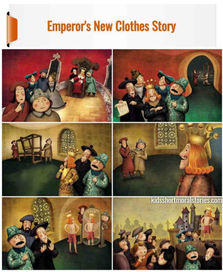 Emperor's New Clothes Short Story With Pictures