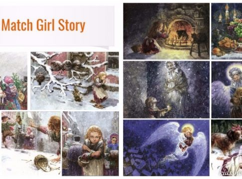 Little Match Girl Short Story With Pictures