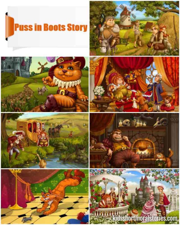 Puss in Boots Story with Pictures
