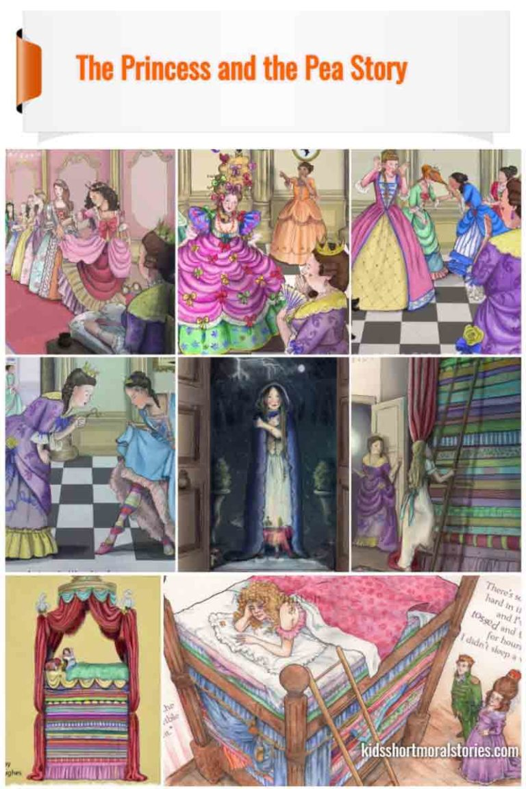 Real Princess and Pea Short Story With Pictures