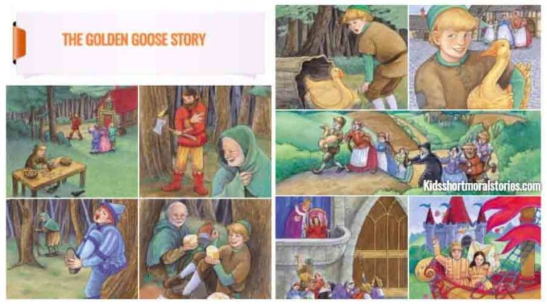 The Golden Goose Story With Pictures