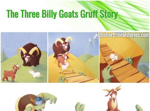 Three Billy Goats Gruff Short Story