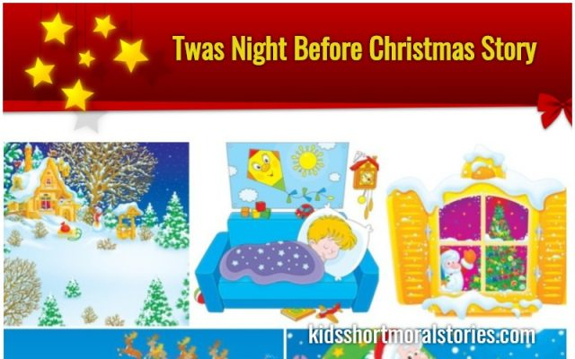 Twas the night before Christmas Story