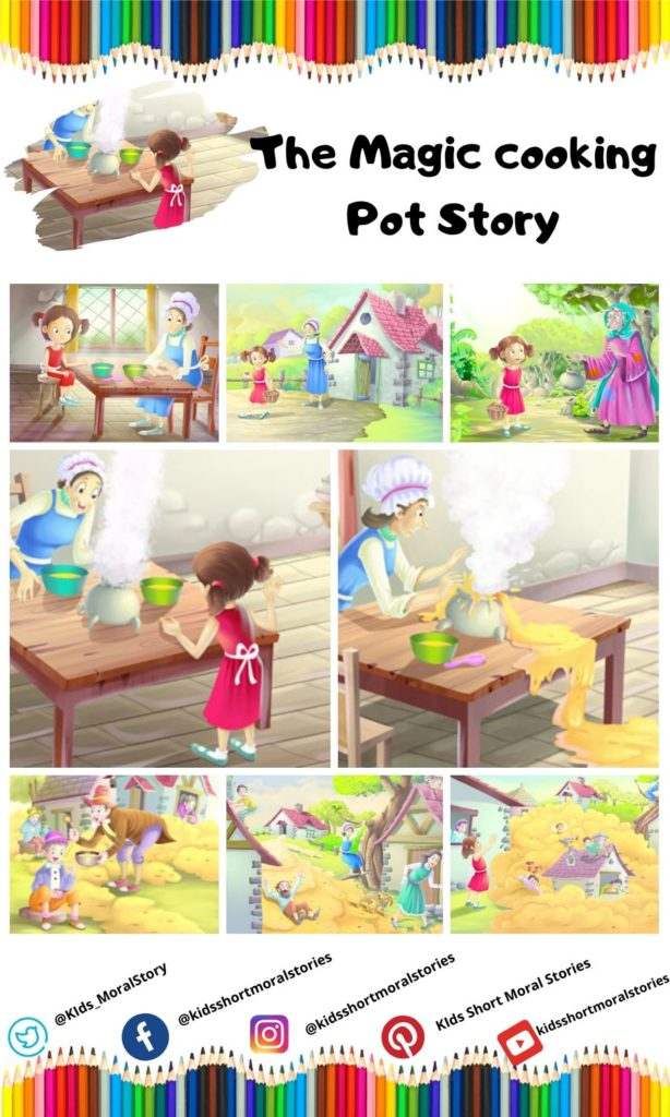 The Magic Cooking Pot Story
